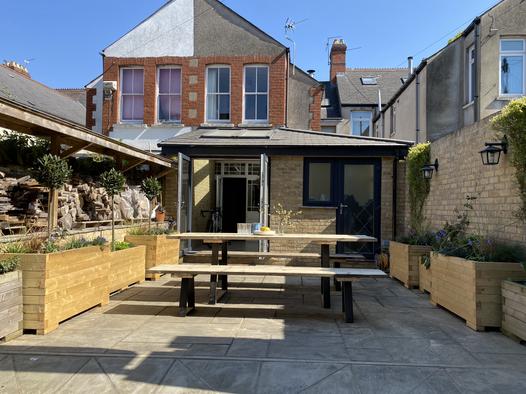 Garden landscape Designer Cardiff