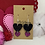 Thumbnail: Double heart dangle