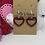 Thumbnail: Small open heart dangle