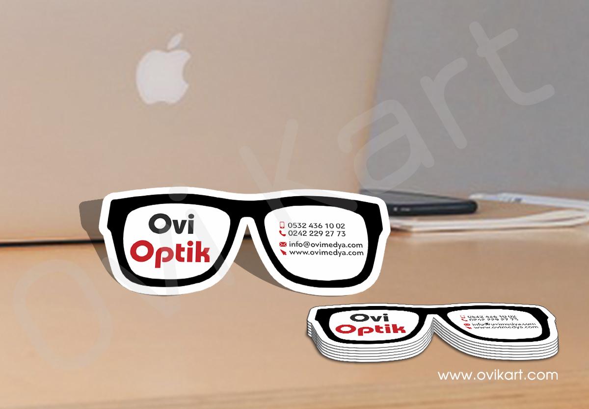 Özel Kesim Optik Kartvizit