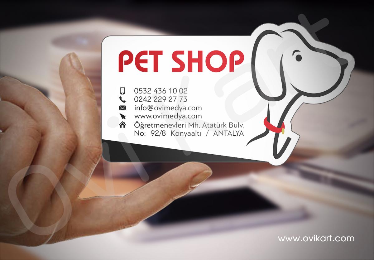 Özel Kesim Pet Shop Kartvizit