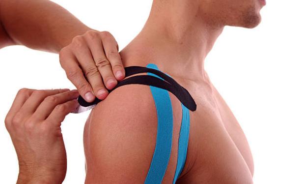 Kinesio tape o Vendaje muscular
