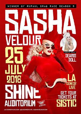 RuPaul Drag Race Stars • Sasha Velour + Dearis Doll • With Host: Noris Star