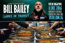 Bill Bailey Exclusive Pre-Show Dining