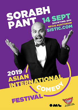 Asian International Comedy Festival: Sorabh Pant [Postpone]