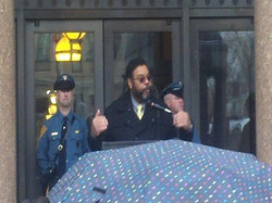 JB at the Courthouse in Trenton
