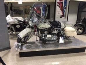 Bike used JFK Motorcade in Dallas
