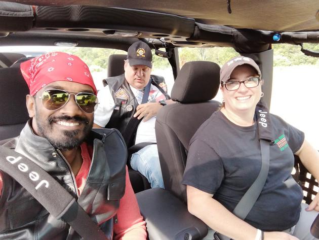 Rajiv, Vinnie, Erin (Owner/Driver)