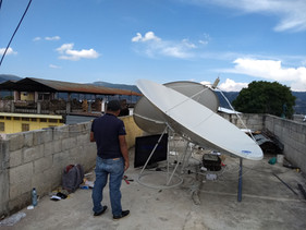 Instalacion de Antenas de Banda C