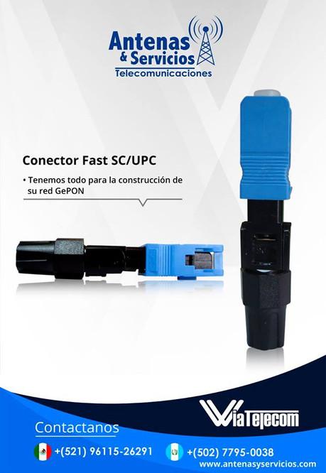 Conectorización en SC/APC y UPC