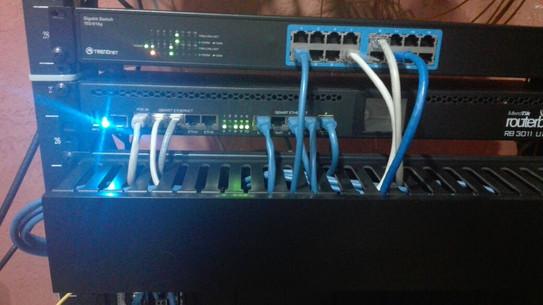 Organizadora de  Cable