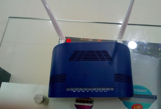 ONU + WI-FI+ CATV