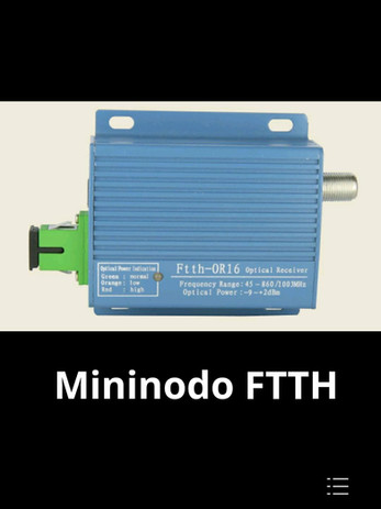 Mininodo para FTTH