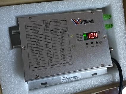 Transmisor/Amplificador Optico