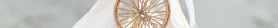 Kirsteen Greenholm events dreamcatcher at top of white tipi