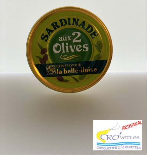 588. Tartinables - Sardinade aux 2 olives 60gr