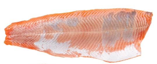 379. Filet de saumon frais d'élevage de Norvège sans peau - 22,90€/kg