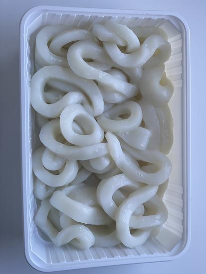 313. Rondelles de calamar fraîches de 4 à 6 cm