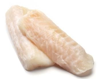 349B. Dos de loup de mer sans peau