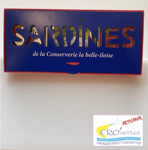 615. Coffret sardines