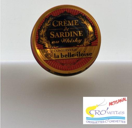 577. Tartinables - Crème de sardine au whisky 60gr