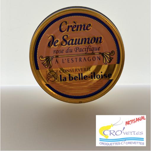 578. Tartinables - Crème de saumon rose du Pacifique à l'estragon 60gr