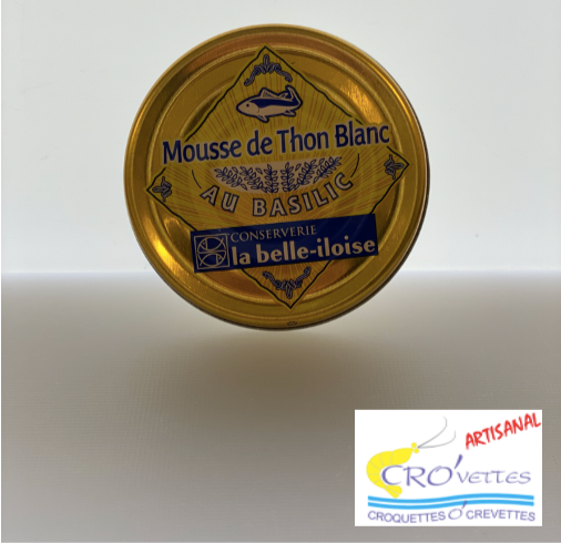 582. Tartinables - Mousse de thon blanc au basilic 60gr