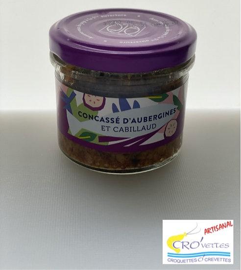 637. Cabillaud - Concassé d'aubergines et cabillaud