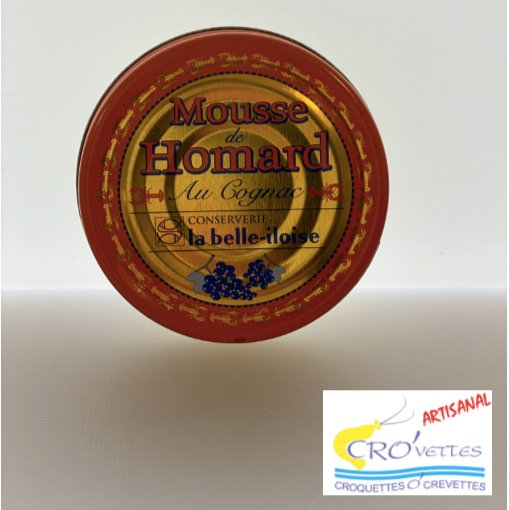580. Tartinables - Mousse de homard au cognac 60gr