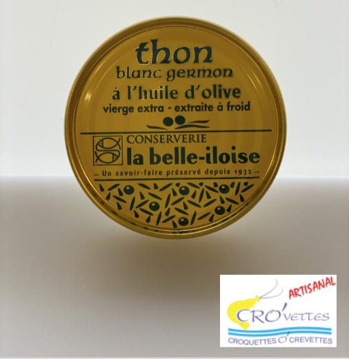 605. Thon - Tranches de thon à l'huile d'olive vierge extra 160gr