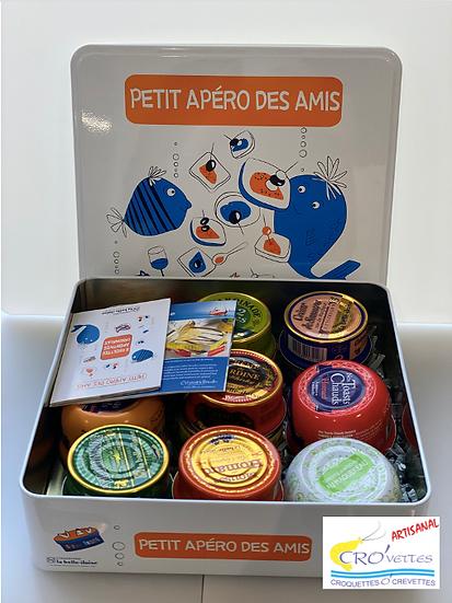 """616. Boîte blanche """"Petit apéro des amis"""""""