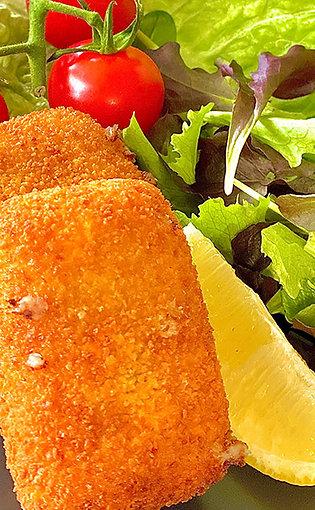 112. Croquettes au fromage 70-75 gr - 4 pcs