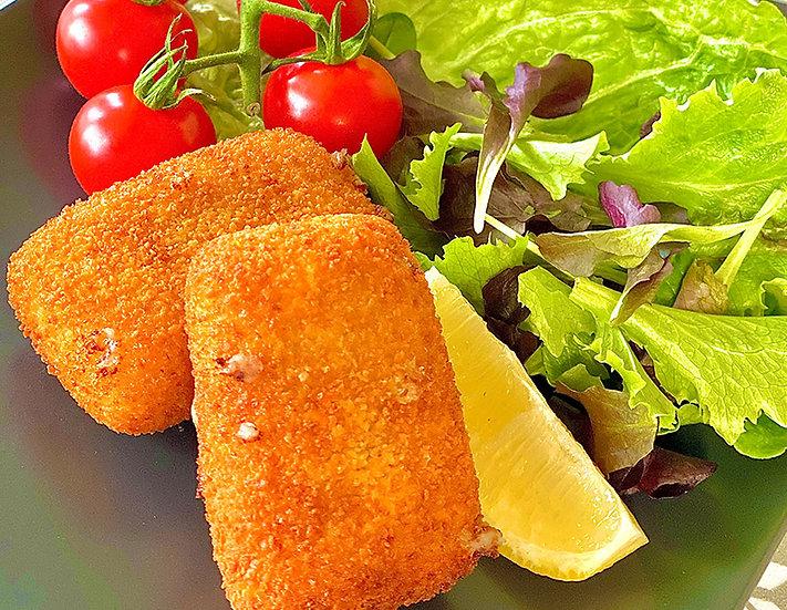 112. Croquettes au fromage - 70-75 gr