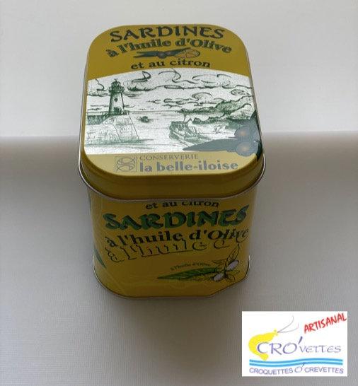 620. La boîte à sardines Citron Olive