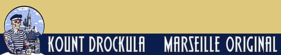 Kount Drockula Marseille / Original T-shirts Rock'n'Roll Style