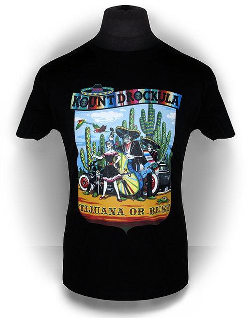 T-shirt aperçu recto / Mariachi / Psychobilly Zombies Hotrod Mexico Tijuana Cactus Rock'n'Roll