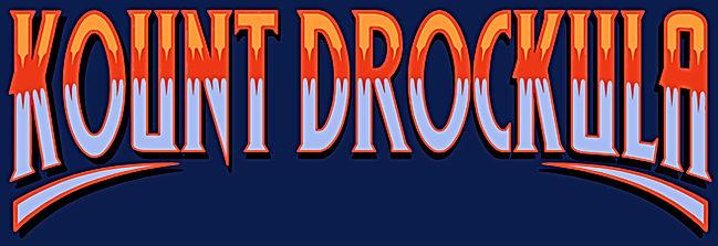 Original T-shirts Rock'n'Roll Style / Kount Drockula Marseille