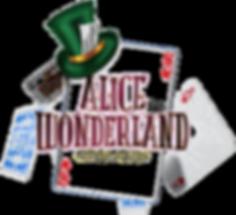 Alice in Wonderland Pantomime Logo