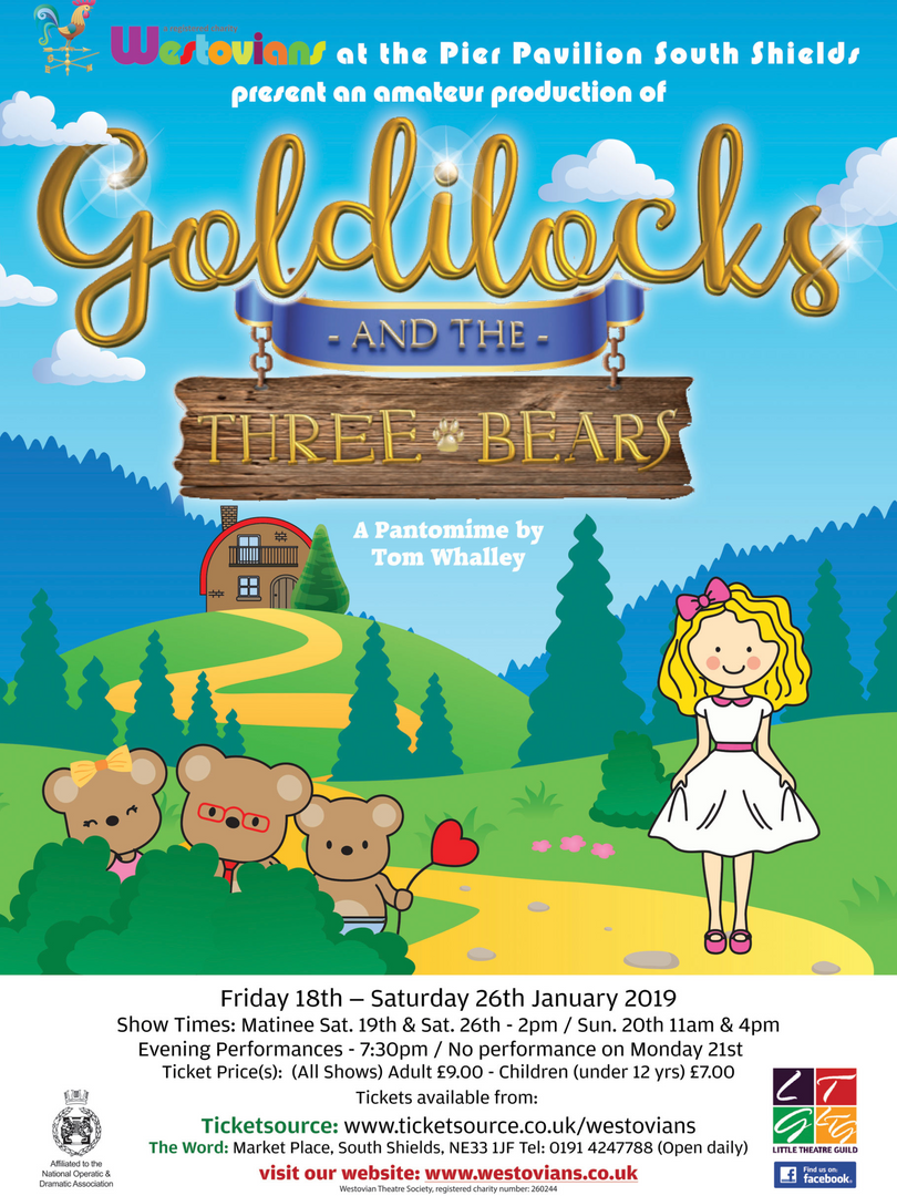 Westovians Goldilocks and the Three Bears