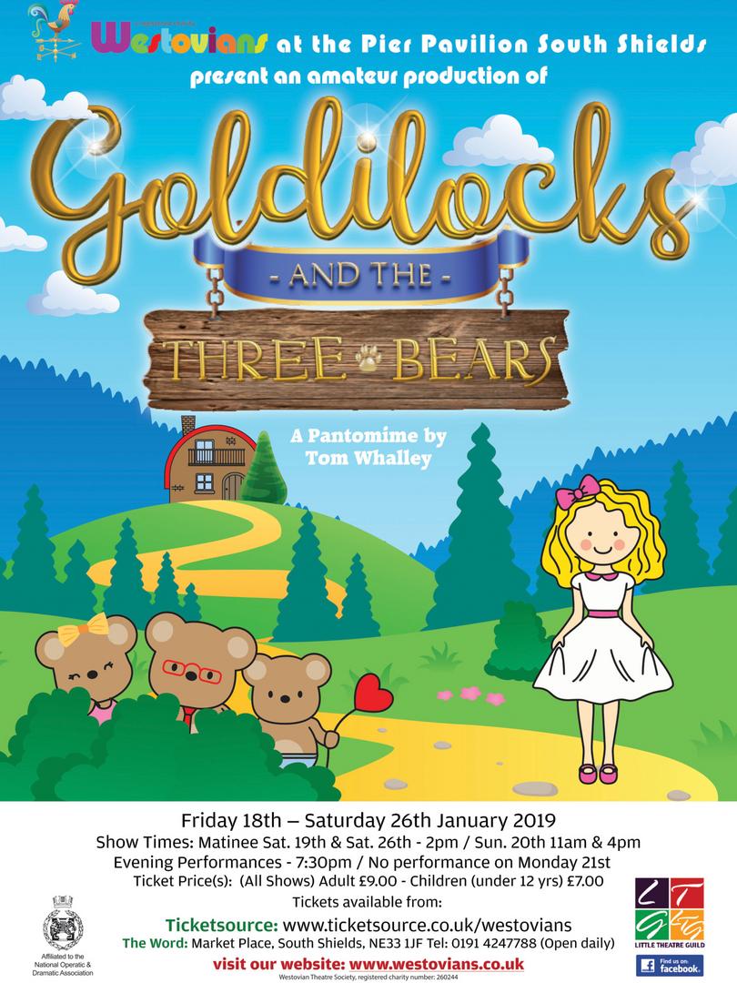 Westovians Goldilocks and the Three Bears