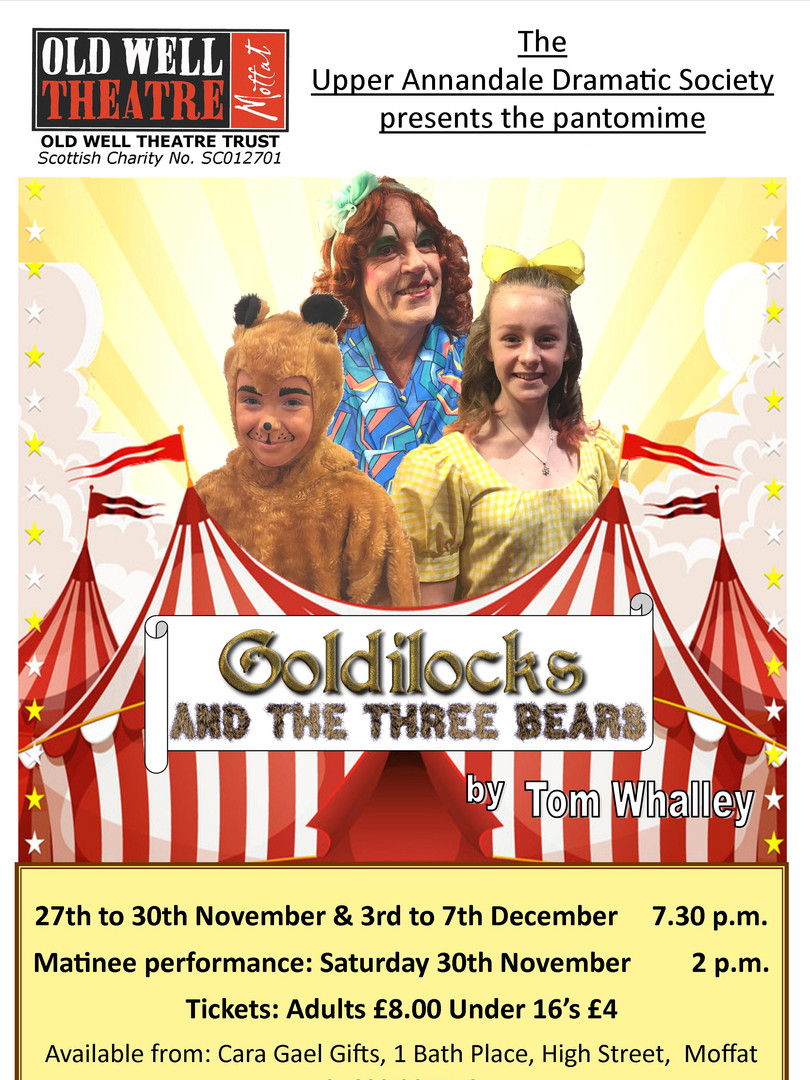 Old Well Theatre Goldilocks and the Three Bears