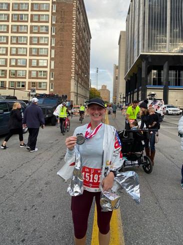 Half Marathon Finish 2019