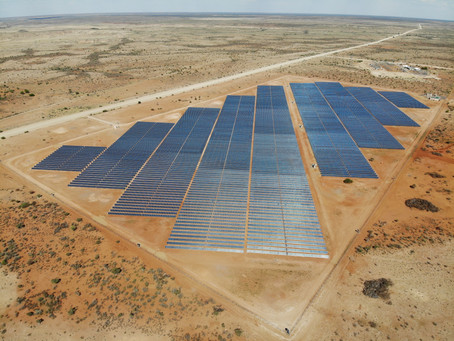 Emitlight IR illuminators have been installed around the Photovoltic power plants in Namibia.