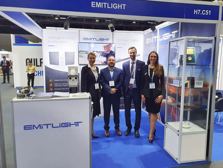 At Gulf Traffic in Dubai, Emitlight Presented New Product for Traffic Management