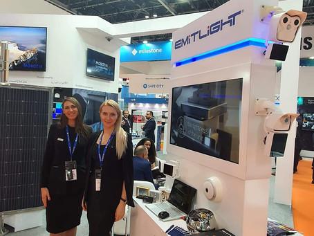 Emitlight has presented most recent develompents at Intersec 2020 in Dubai