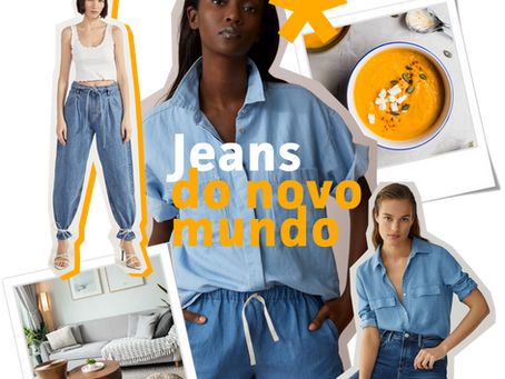 Reflexões sobre o jeans para o novo mundo