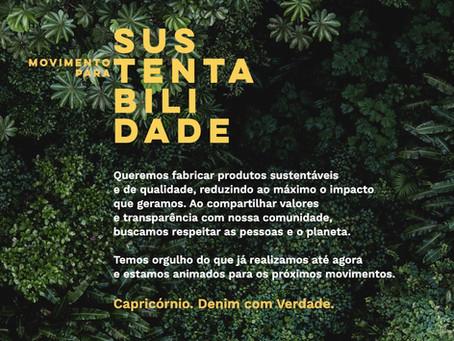 Movimento para Sustentabilidade: processos e produtos mais sustentáveis