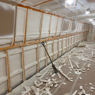Boat wall insulation
