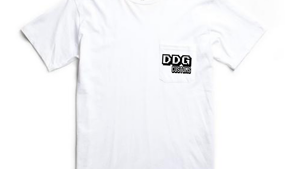 White DDG Video Game Tee