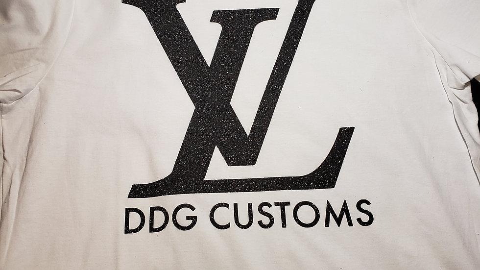 Louis V Custom Glitter DDG T-Shirt